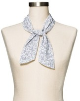 Mossimo Women's Airy Blue Floral Fashion Scarf
