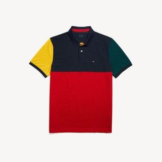 Tommy Hilfiger Custom Fit Colorblock Polo