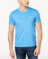 HUGO BOSS Men's Classic Fit Logo-Print V-Neck T-Shirt