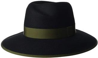 Rag & Bone Zoe Fedora (Black 2) Fedora Hats