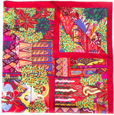 Salvatore Ferragamo printed scarf - women - Silk - One Size