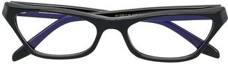 Cutler & Gross Cat-Eye Shaped Glasses