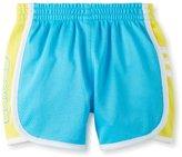 adidas Girls 2-6x Iconic Mesh Short