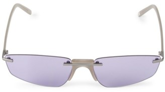 Andy Wolf Ophelia 58MM Oval Sunglasses