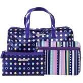 Models Prefer Purple Spot & Stripe Duffle Set 3 pack