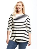 Old Navy Relaxed Mariner-Stripe Plus-Size Tee