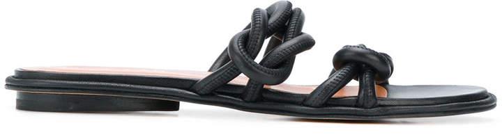 Derek Lam knotted sandals