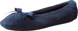 Isotoner Women's Terry's Ballerina Slipper