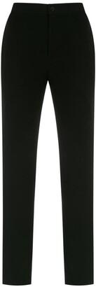 Gloria Coelho Side Panels Straight Trousers