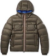 Moncler - Morane Quilted Shell Hooded Down Jacket