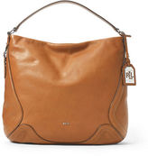 Lauren Ralph Lauren Birchfield Leather Hobo