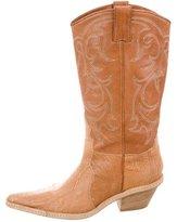 Sartore Ostrich Legs Cowboy Boots