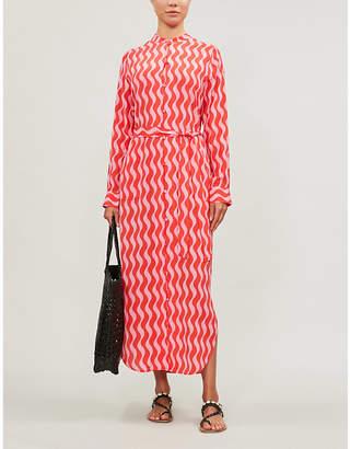 Selfridges Yolke Lauren silk-blend dress