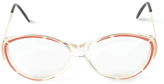 Yves Saint Laurent Pre Owned Rounded Glasses