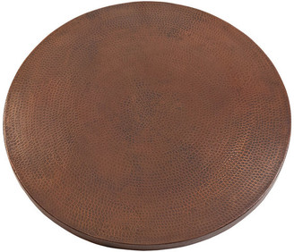 """Premier Copper Products 30"""" Round Hammered Copper Table Top"""