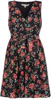 Yumi Curves Ditsy Flower Lace Skater Dress