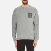 Barbour B Crew Neck Sweater Grey
