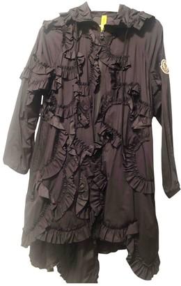 MONCLER GENIUS Moncler n4 Simone Rocha Black Trench Coat for Women