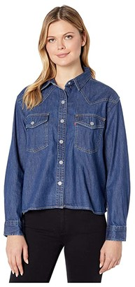 Levi's(r) Womens Penelope Shirt (Hide and Seek) Women's Clothing