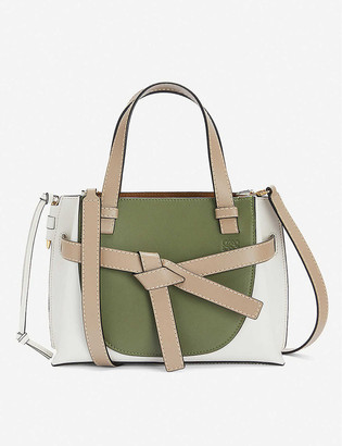 Loewe Gate mini leather cross-body bag