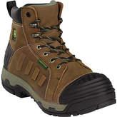 "John Deere Men's Boots WCT II Waterproof 6"" Lace-Up Alloy Toe 6912 Boot Boots"