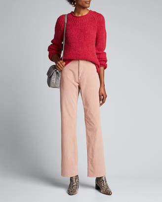 Rag & Bone Ruth Super High-Rise Straight Corduroy Pants