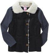 Design History Shearling Jacket (Toddler/Kid) - Black-4