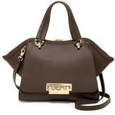 Zac Posen Eartha Iconic Small Leather Double Handle Bag