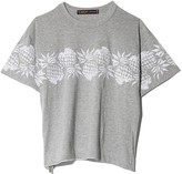 Sacai Sun Surf / Pineapple Pullover in Light Grey