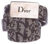 Christian Dior Diorissimo Canvas Belt