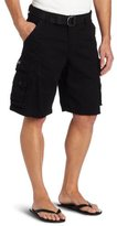 Lee Men's Big-Tall Dungarees Belted Wyoming Cargo Short