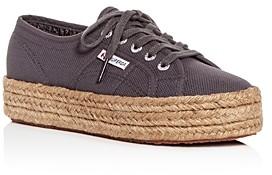 Superga Women's Cotropew Low-Top Platform Sneakers