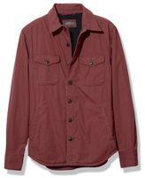 L.L. Bean Men's Signature Fleece-Lined Poplin Shirt Jacket, Slim Fit