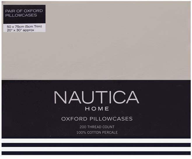 Nautica Oxford Pillowcases