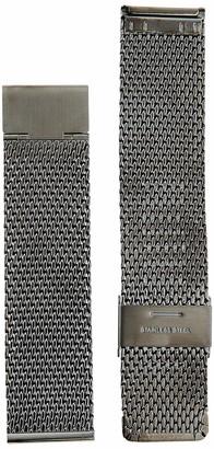 Hadley Roma MB3848RASE 22 Black Metal Watch Band