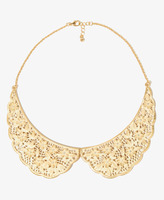 Forever 21 Floral Collar Necklace