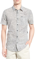 Volcom New Noise Trim Fit Short Sleeve Print Woven Shirt