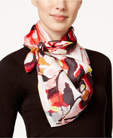 Vince Camuto Water Blooms Silk Square Scarf