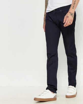 Armani Jeans Denim Blue Slim Fit Low-Rise Pants