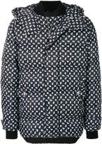 Versus patterned puffer jacket