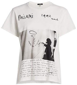 R 13 U2 Miami Boy Graphic T-Shirt