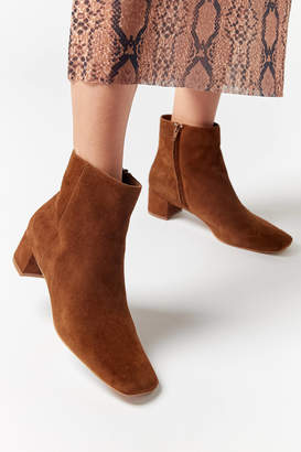 Urban Outfitters Elle Suede Ankle Boot