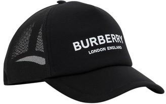 Burberry Logo Print Baseball Cap