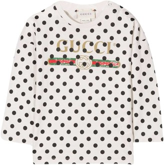 Gucci White Baby Shirt