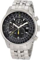Charles Hubert Charles-Hubert, Paris Men's 3775-BM Premium Collection Stainless Steel Chronograph Watch