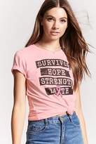 Forever 21 BCA Survivor Graphic Tee
