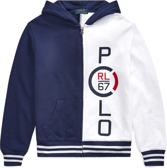 Ralph Lauren Flag Cotton Terry Sweatshirt