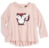 Tea Collection Infant Girl's Ocha Graphic Top