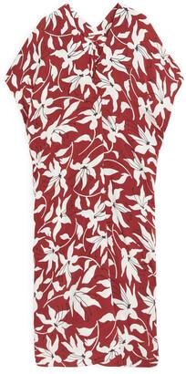 Arket Floral Kaftan Dress