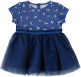 Cath Kidston Woodstock Ditsy Baby Jersey Net Dress